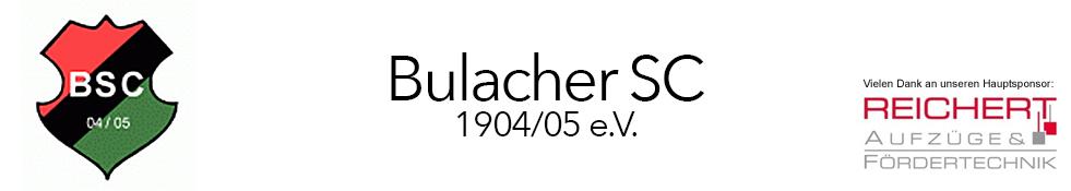 Herzlich Willkommen beim Bulacher SC